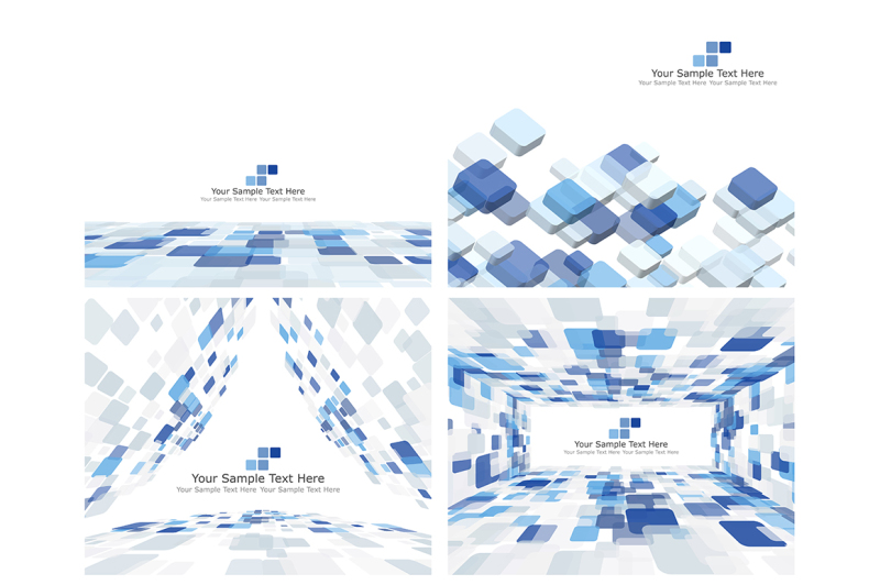 set-of-16-checkered-background