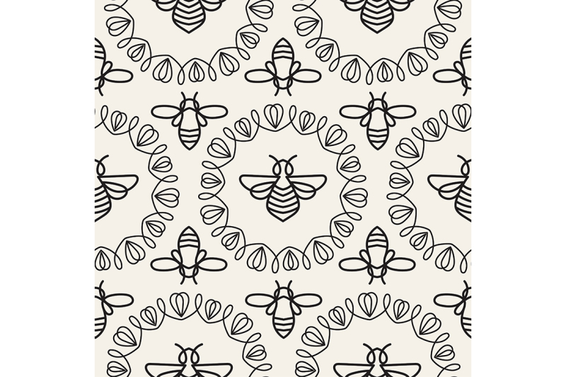 seamless-pattern-with-bee