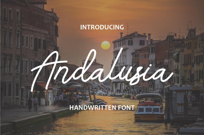 andalusia-handwritten-font