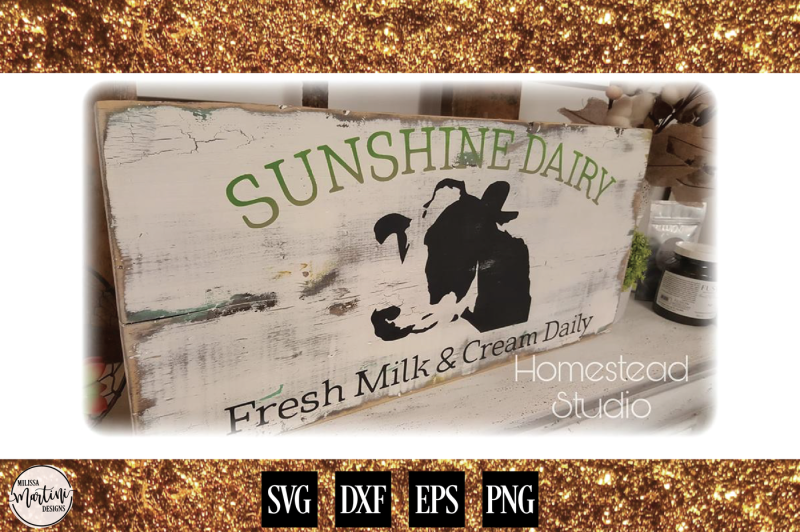 sunshine-dairy-cow-farm-sign