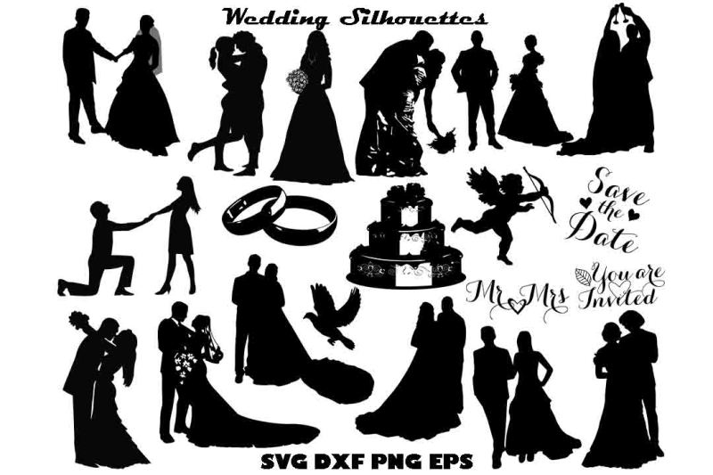 wedding-silhouette-svg-dxf-png-eps