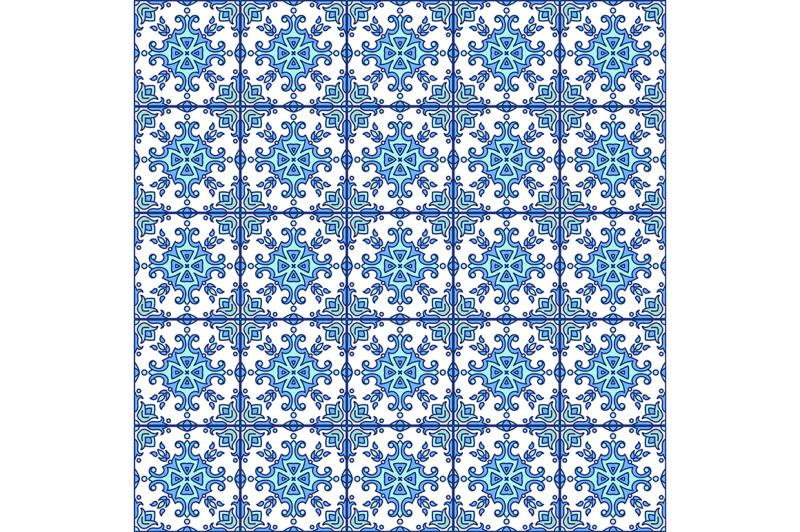 portuguese-azulejo-tiles-blue-and-white-gorgeous-seamless
