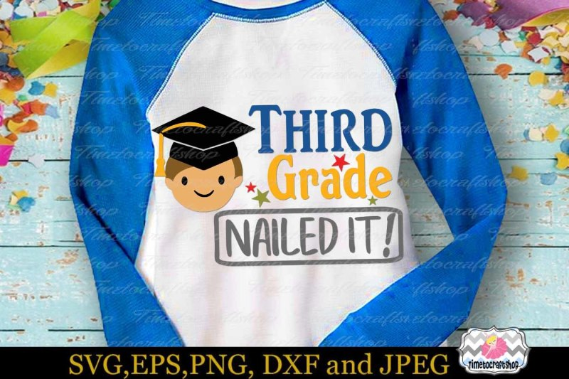 svg-dxf-eps-and-png-cutting-files-graduation-3rd-grade-nailed-it