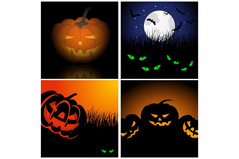 set-of-halloween-greeting-cards