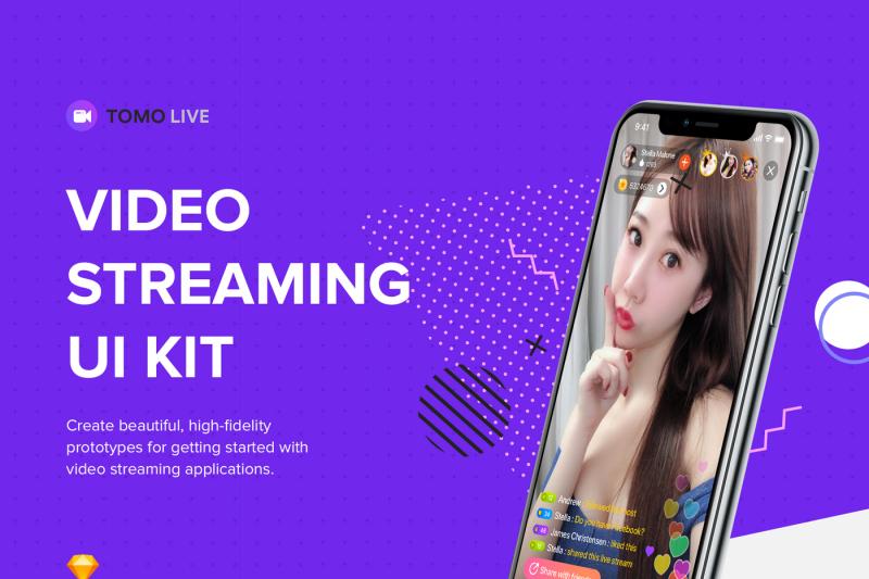 tomo-video-streaming-ui-kit