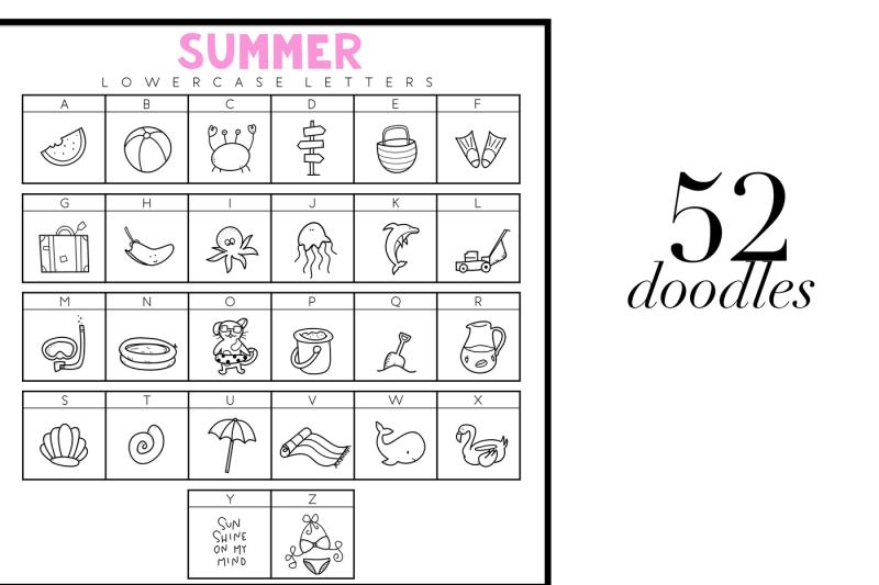 summer-break-a-summer-doodle-font-dingbats-font