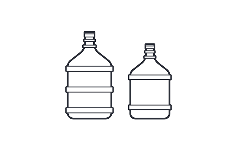 big-plastic-bottle-with-water-isolated-on-white-background-line-icon