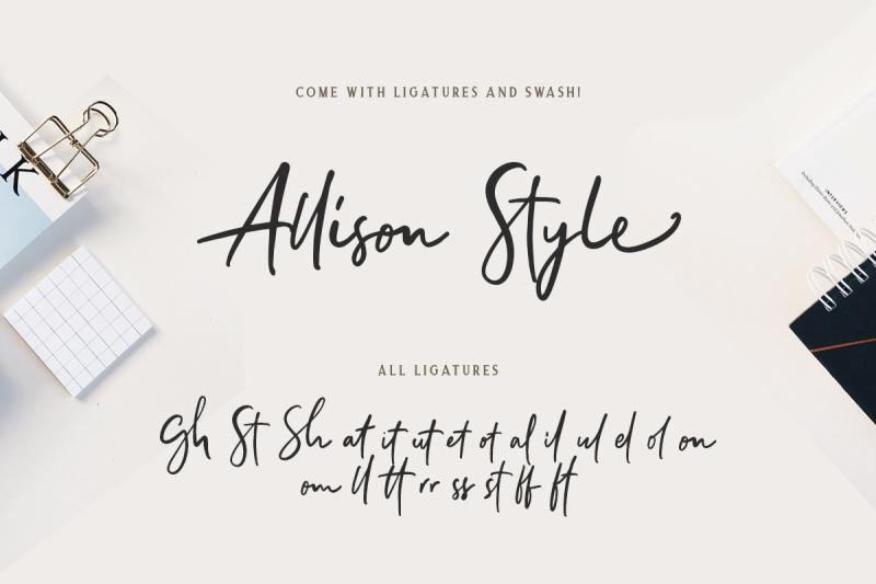 allison-style-font-duo