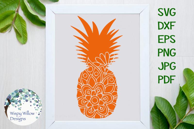 pineapple-mandala-svg-dxf-eps-png-jpg-pdf