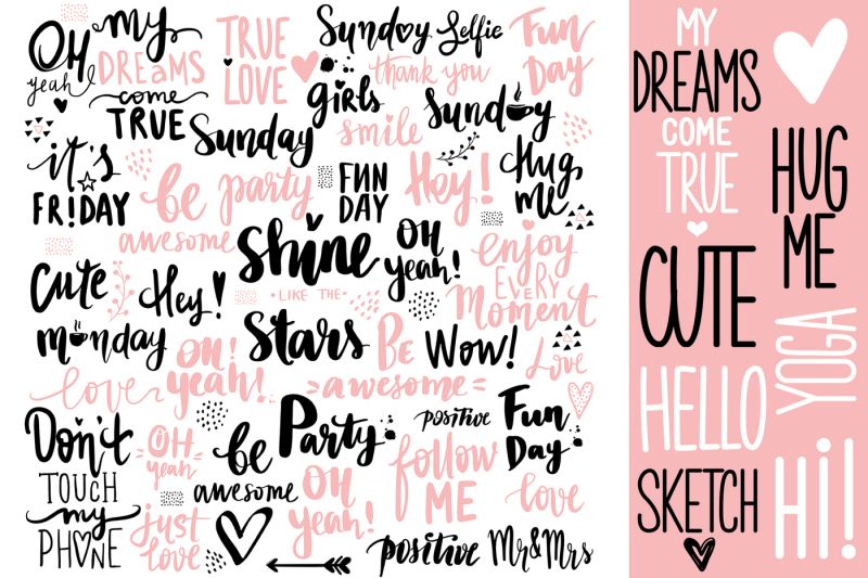 cute-girls-positive-phrases-patterns