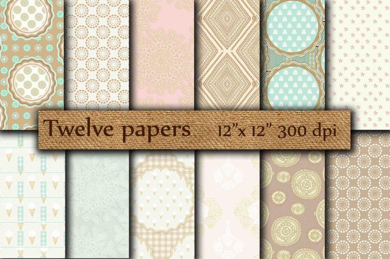 beige-green-papers