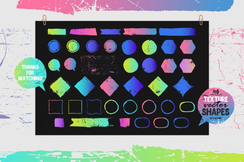 texture-vector-shapes