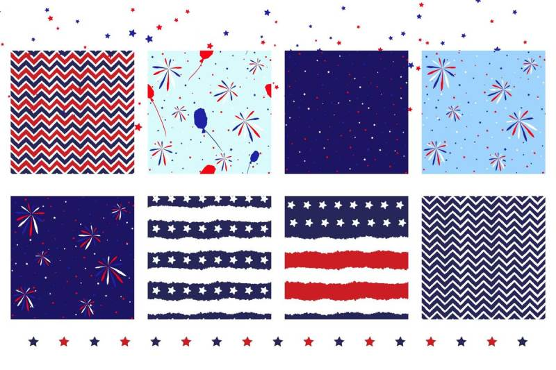 4th-july-grunge-pattern-pack