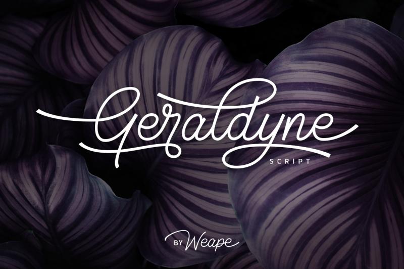 geraldyne-script