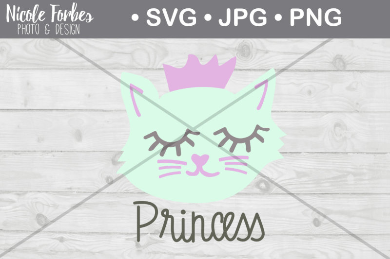 princess-cat-svg-cut-file