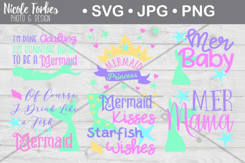 mermaid-svg-bundle