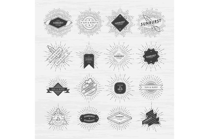 circle-badges-set-with-sunburst-frames