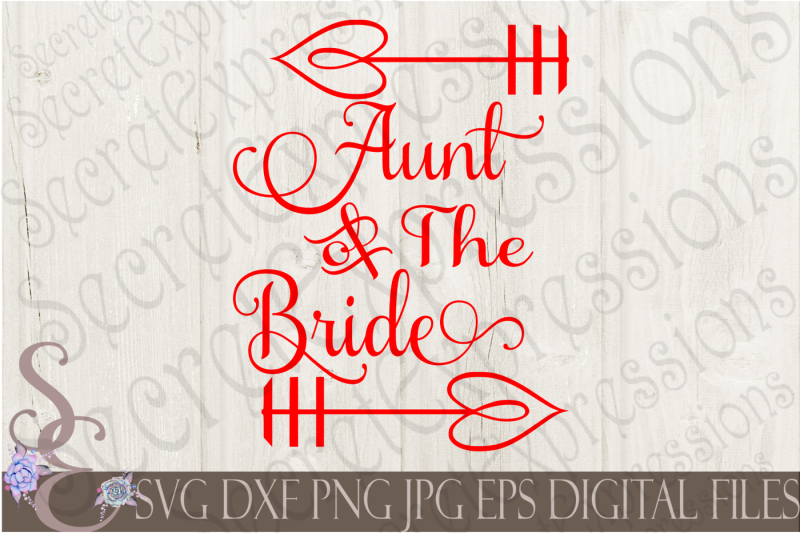 aunt-of-the-bride-svg