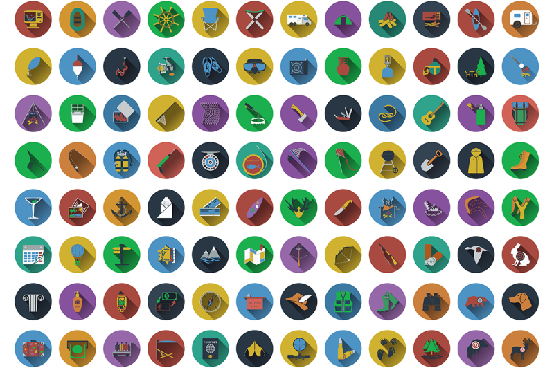 big-set-of-circle-flat-design-icons