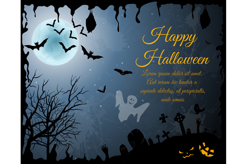 halloween-greeting-card-set