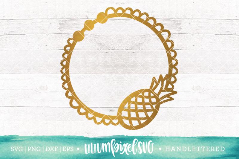 pineapple-doily-monogram