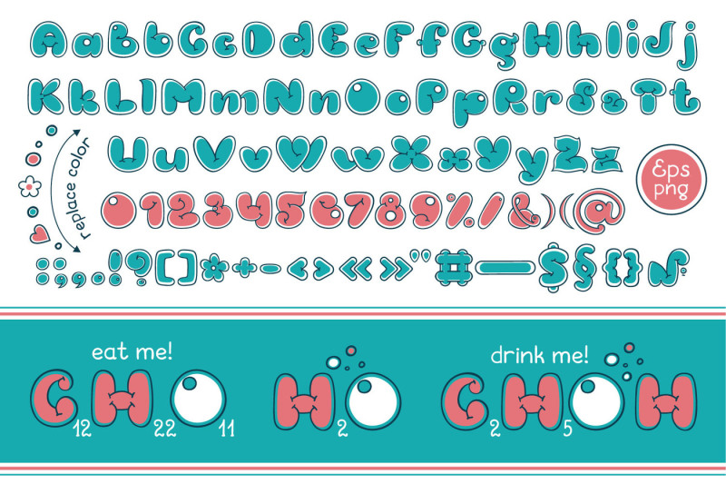 bubble-double-duo-font-comic-alphabet-handwritten-graffiti-cartoon