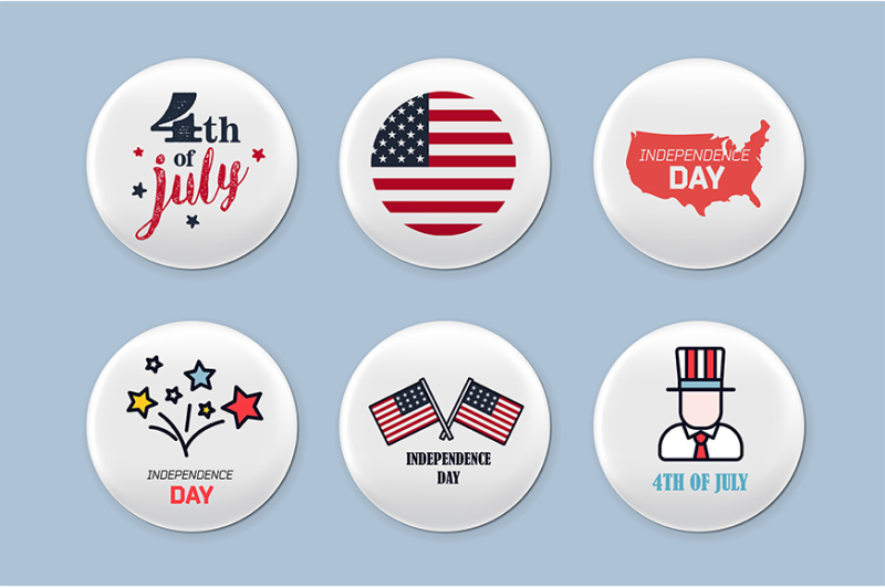 steel-round-badges-set-patriotic-brooch-4th-of-july