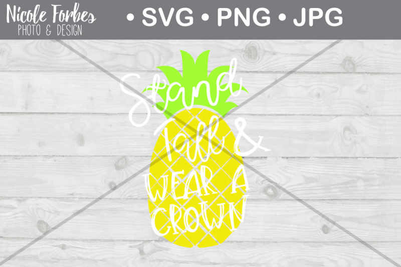 stand-tall-pineapple-svg-cut-file