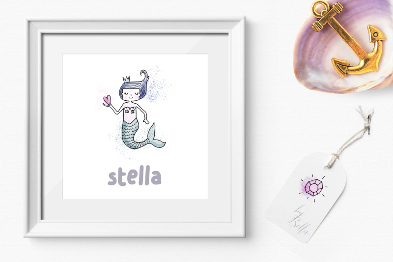 mermaid-clipart-collection