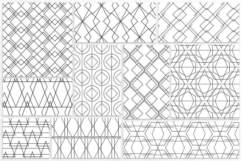 simple-line-geometric-patterns