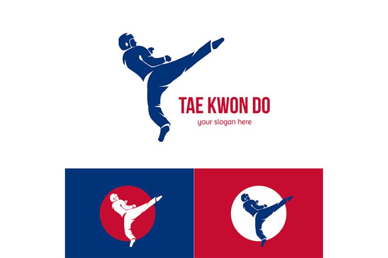 vector-taekwondo-logo-template-martial-arts-badge