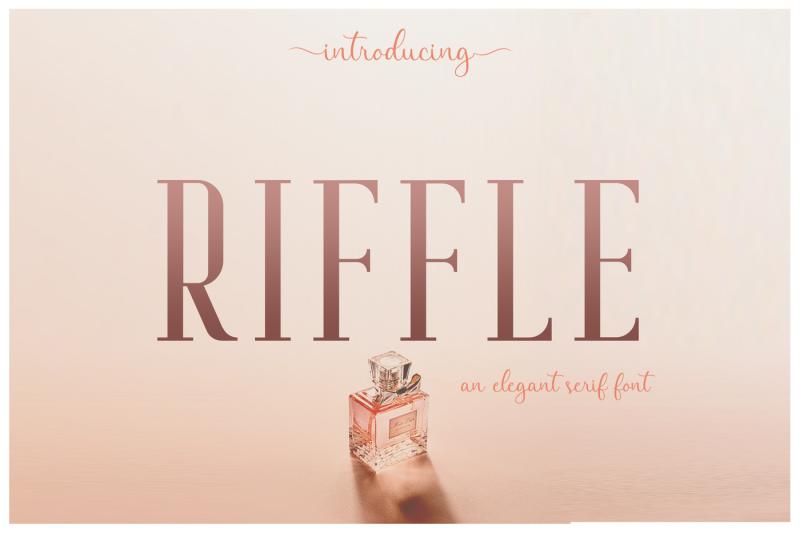 riffle-font-family