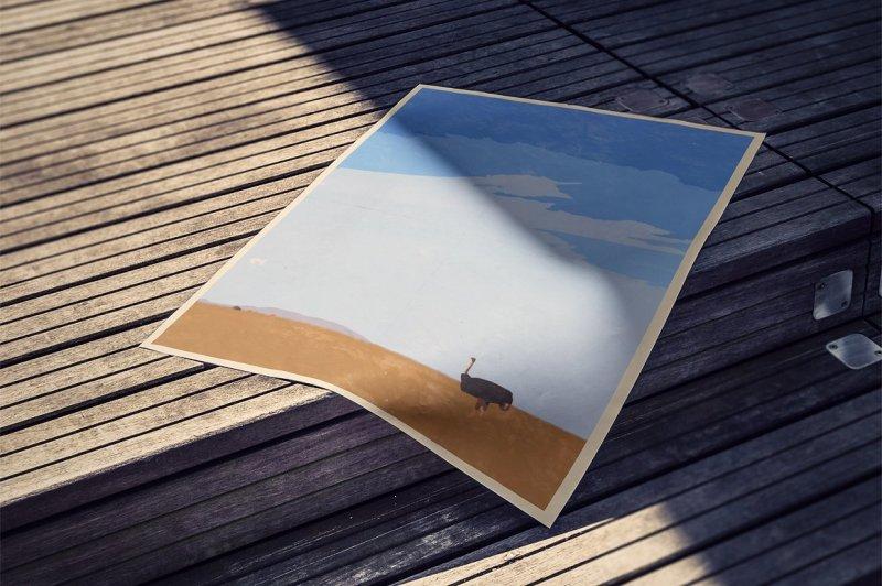 vintage-landscape-poster-template