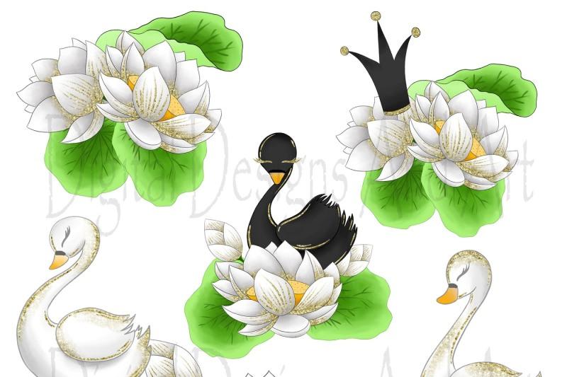 wild-swans-clipart
