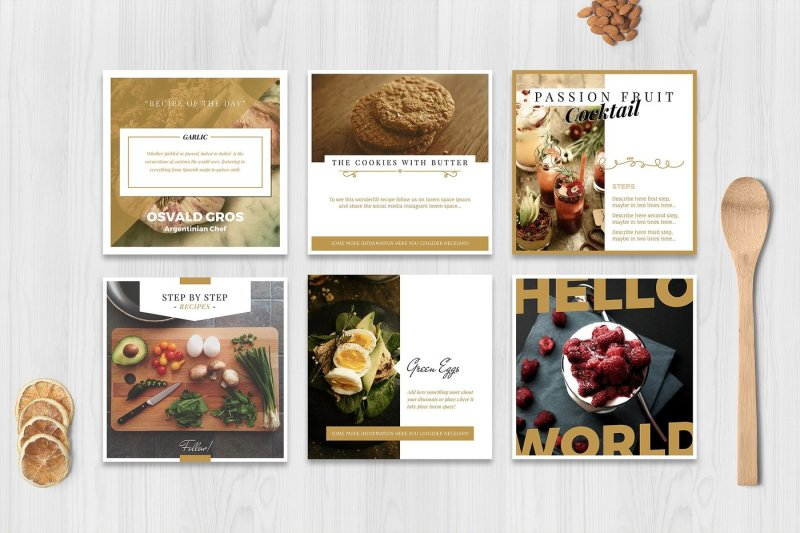 food-social-media-pack
