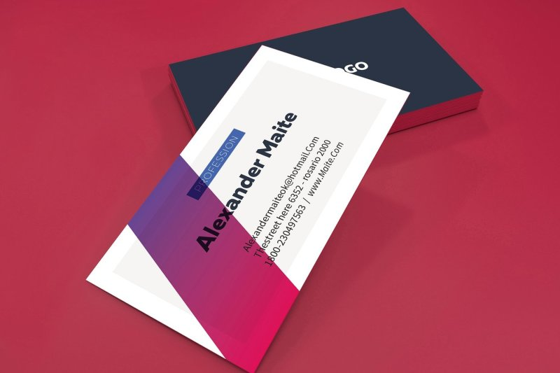 gradient-business-card-template