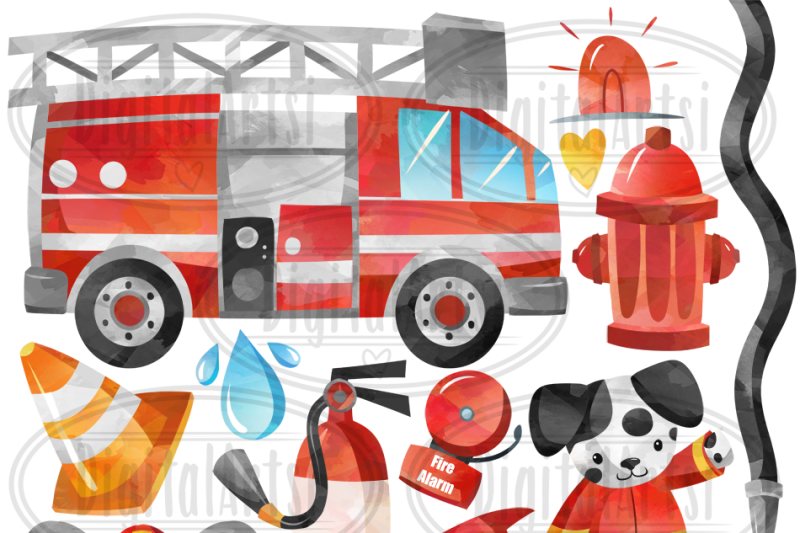watercolor-firefighters-clipart