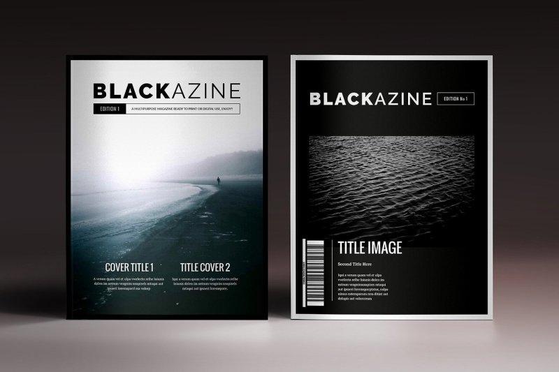 blackazine-magazine-indesign-template