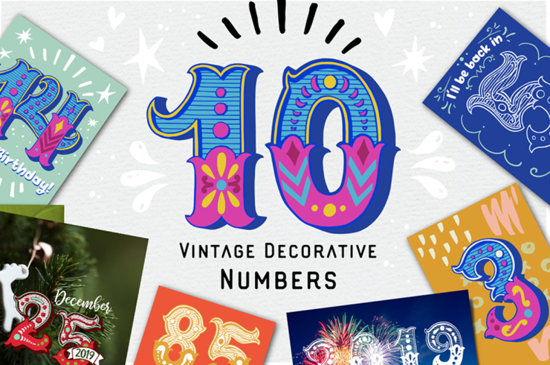 vintage-decorative-numbers