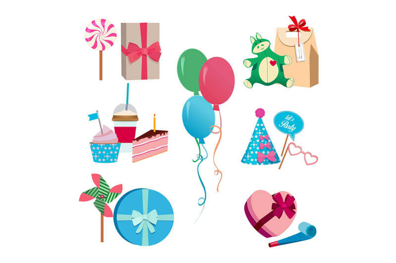 festive-or-birthday-party-different-vector-elements-set