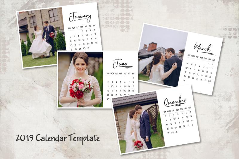 2019-calendar-template-5x7