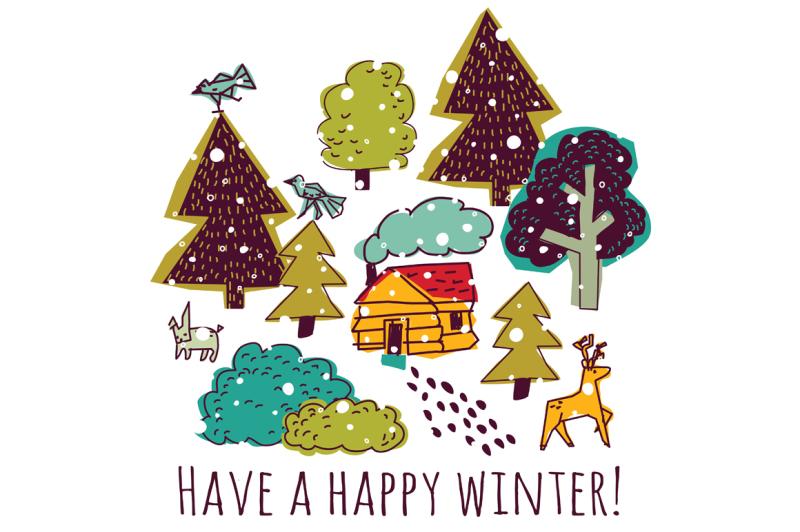winter-greeting-card