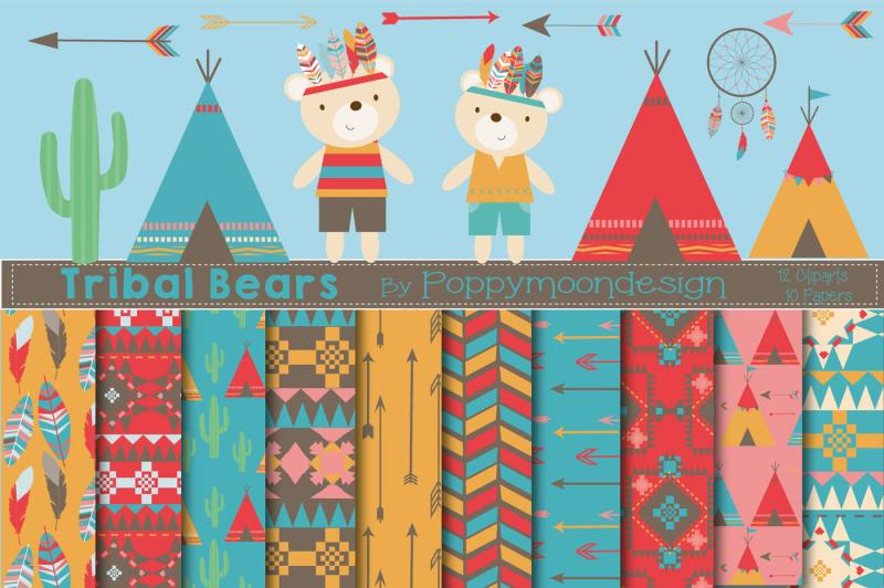 tribal-bears