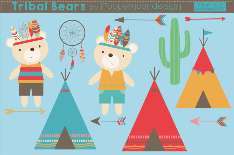 tribal-bears