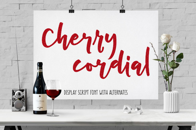 cherry-cordial-script-display-font
