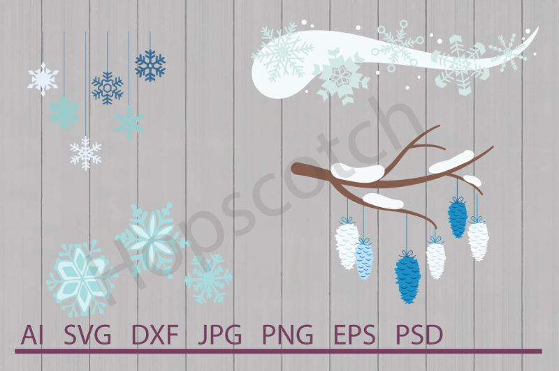 snowflake-bundle-svg-files-dxf-files-cuttable-files