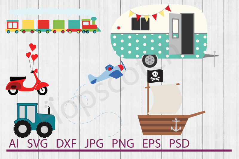 transportation-bundle-svg-files-dxf-files-cuttable-files