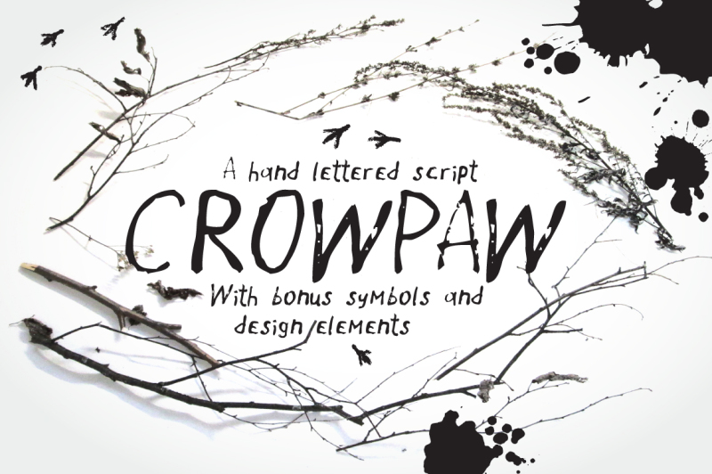 crowpaw-font-and-bonus