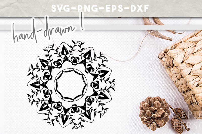 mandala-clip-art-svg-hand-drawn-dxf-eps-png-cut-file