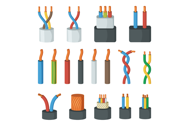 electrical-cable-wires-different-amperage-and-colors
